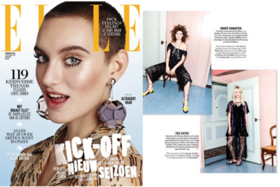 CdG Elle Magazine Feb16